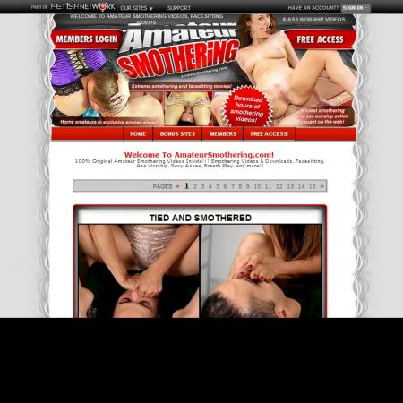 Amateur Smothering