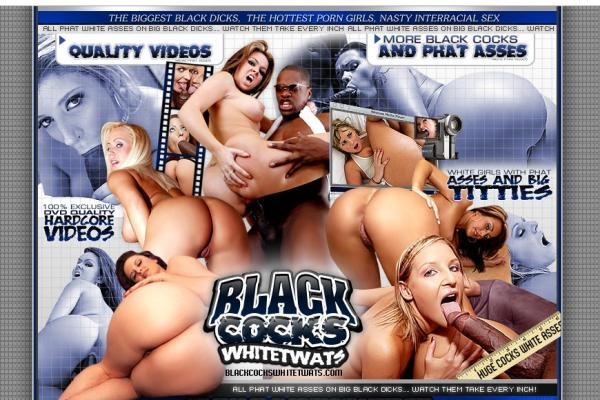 Black Cocks White Twats