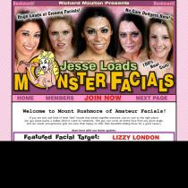 join Jesse loads monster facial