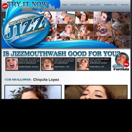 Jizz Mouthwash