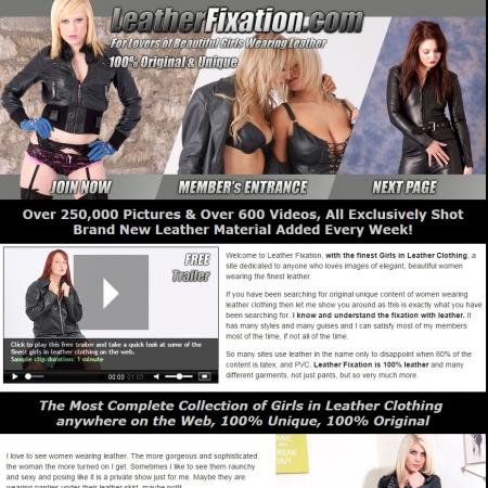 Leather Fixation