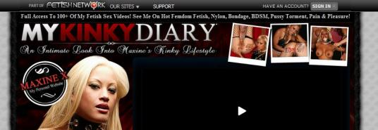 My Kinky Diary review