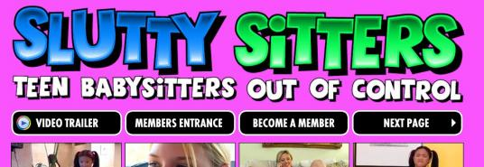 Slutty Sitters site blocked
