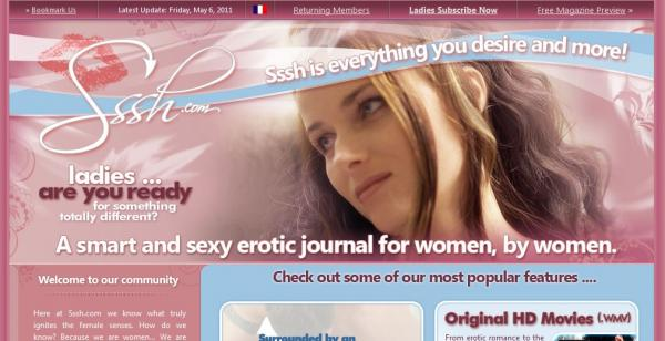 Sssh.com is an erotic site by women and for women ? a site that is so much ...