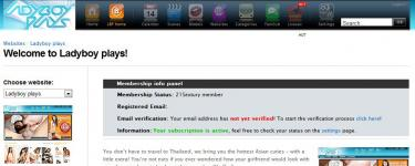 memberzone screenshot 1 (2011-03-16)