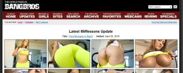 milf lessons  0 375x150 An aide to Mitt Romney has sworn to put the kibosh on smut peddlers should ...
