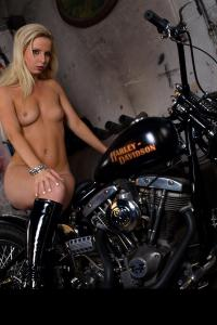 Babes on bike picture 4