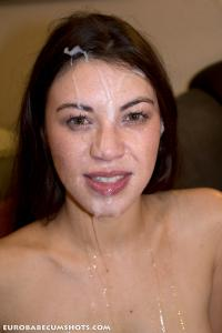 Euro babe cumshots picture 2