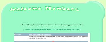 memberzone screenshot 1 (2011-08-06)
