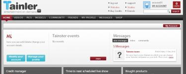 memberzone screenshot 1 (2011-04-29)